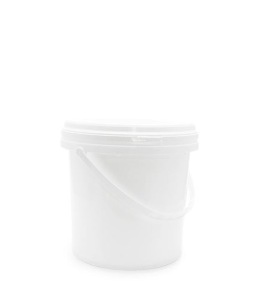 Picture of 4 Litre Round White Top Pail