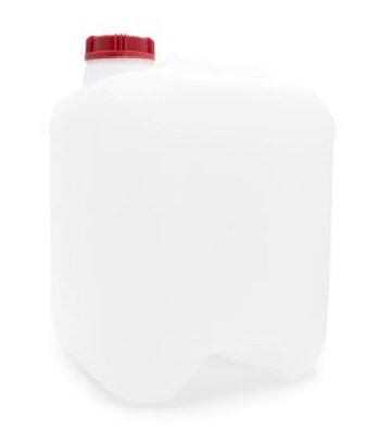 Picture of 20 Litre Square Natural Dangerous Goods Jerry Can