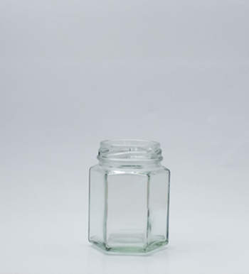 Picture of 110ml Hexagonal Glass Jar