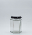 Picture of 190ml Hexagonal Glass Jar