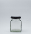 Picture of 190ml Square Glass Jar
