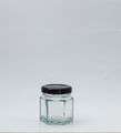 Picture of 45ml Hexagonal Glass Jar