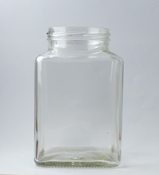 Picture of 750ml Square Glass jar