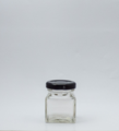 Picture of 50ml Square Glass Jar