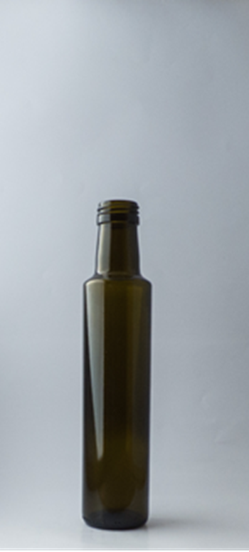 Picture of 250ml Round Green Dorica Glass Bottle