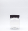 Picture of 200ml Square Clear  PET TE Jar