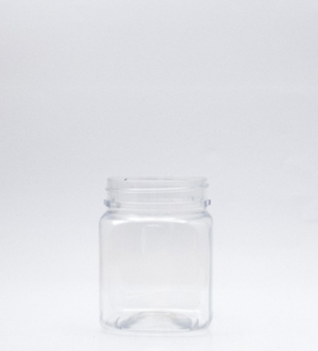 Picture of 290ml Square Clear TE Jar
