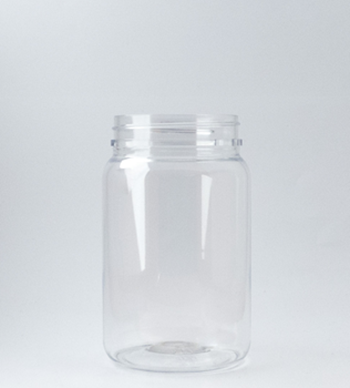 Picture of 400ml Round Clear TE Jar