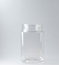 Picture of 400ml Square Clear TE Jar