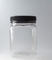 Picture of 750ml Square Clear TE Jar
