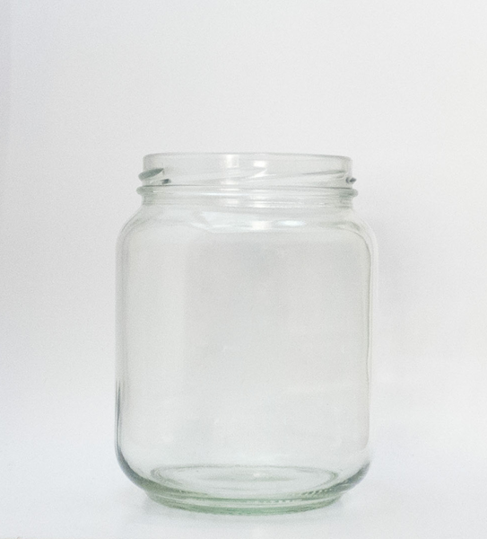 Picture of 720ml Short Round Glass Jar