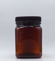 Picture of 750ml Square Amber TE Jar