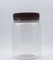 Picture of 750ml Hexagonal Clear TE Jar