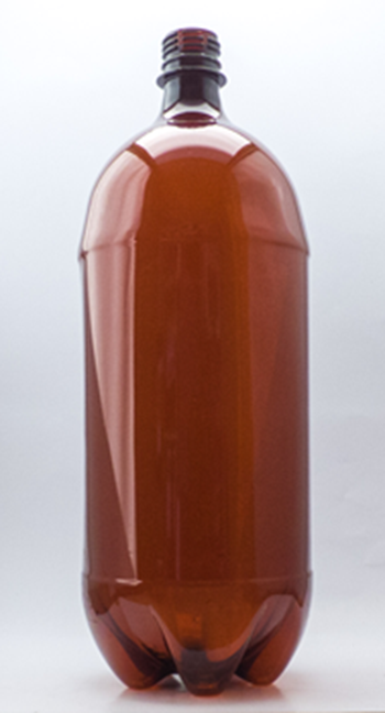 Picture of 2000ml Round Amber TE Rigger Bottle