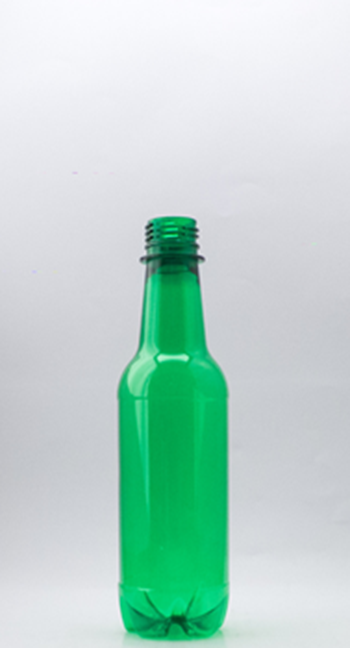 Picture of 350ml Round Green RTD Bottle