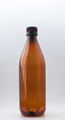 Picture of 750ml Round Amber TE Bottle