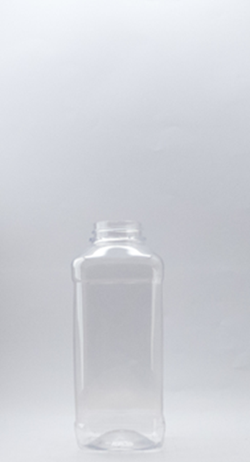Picture of 500ml Square Clear  TE Bottle