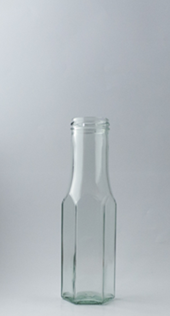 Picture of 250ml Hexagonal Glass Bottle