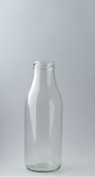 Picture of 500ml Round Polpa Glass Bottle