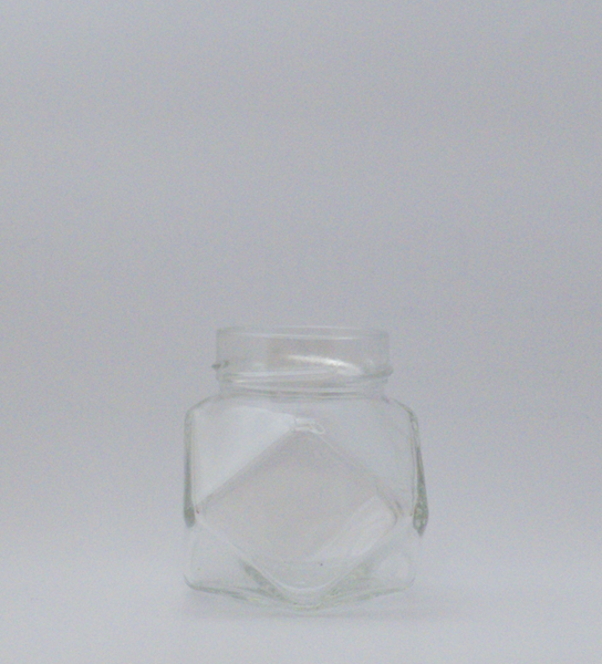 Picture of 212ml Diamond Deep Dish Glass Jar