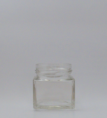 Picture of 212ml Evolution Square Glass Jar