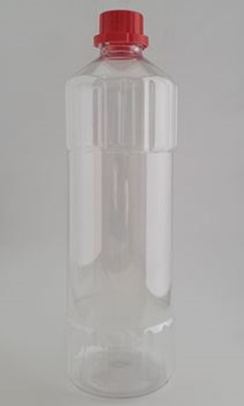 Picture of 1 Litre Poison Bottle With 28mm Red Cap