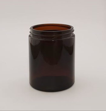 Picture of 175ml Amber Round Glass Jar